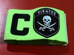😍  Énorme le nouveau brassard de capitaine du Stade Brestois !!! #teamPirates 🔴⚪🏴☠️ #AllezBrest !!!